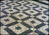 Mramor Supíkovický a Lipovský - Dlažba mozaika 6*6*4 cm